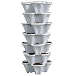 Goedkope verticale Hydroponic Flower Pots Tower Garden