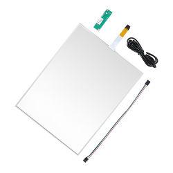 19 pouces à écran tactile USB panneau tactile résistif 4 fils des kits de verre POS panneau tactile tactile