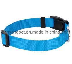 De in het groot Toebehoren van het Product van het Huisdier van de Halsband van het Patroon van het Af:drukken van de Douane Nylon