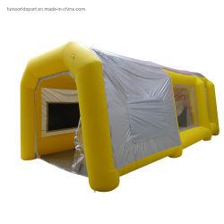 Piscina inflable móvil de 8m Paintbooth portátiles para coche