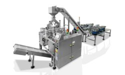 Tazón de la máquina de llenado automático de alimentación, alimentador vibratorio, tapa el alimentador con máquina Doypack