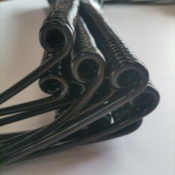 Rivestimento in PU di alta qualità, cavo a spirale con isolamento in PE 2/3/4/5/6/7/8/9, cavo a spirale in PU, cavo a spirale con 8 anime in PVC
