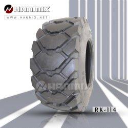 Индикатор Hanmix радиального смещения твердых дороги погрузчик фронтальный погрузчик с обратной лопатой скребка для грейдеров и погрузчиков, Минипогрузчик, компактный Dumper промышленной шины 19.5L-24