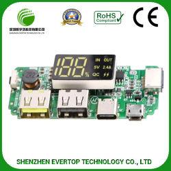 Design PCB da placa de circuito impresso com montagem SMT e mergulho