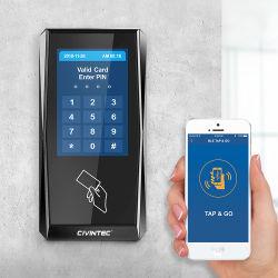 """Maak 3.5 """" IP van de Lezer NFC waterdicht van Vertoning MIFARE Het Systeem van het Toegangsbeheer met Sdk"""