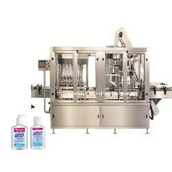 La limitación de llenado de desinfección de la mano de la máquina de etiquetado de desinfectante Limpiador spray de la máquina de embotellamiento