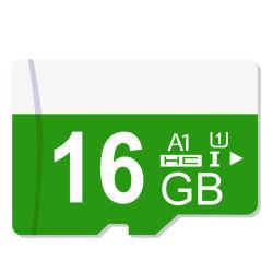 실제적인 수용량 마이크로 SD 카드 Class30 메모리 카드 16GB Class10 저속한 소형 SD 카드