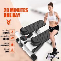 Mini Pedal Stepper Trainingsgerät LCD-Display Indoor Cycling Bike Stepper Laufband Trainingsgerät für Home Office Gym