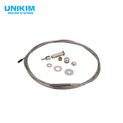 China-Fabrik-Edelstahl-Glashandlauf-Balustrade-Plattform-Kabel-Geländer