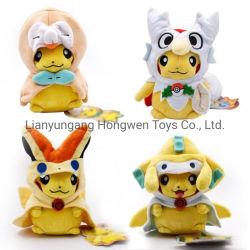 Bambola molle della peluche di Cosplay Charizard Pikachu di alta qualità per i capretti