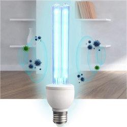 슈퍼마켓 가정 창고 원격 제어 타이머를 위한 살균 램프 E27/E26 알루미늄 기본적인 전구 UV 빛 관 전구 소독 램프