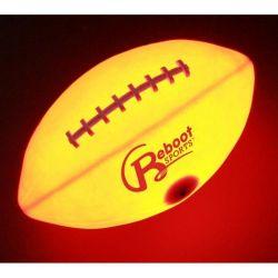 Fußball-Kugel des Licht-Gummi-LED hohe helle LED amerikanischen des Fußball-zwei