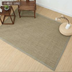 Personalizar Size Japonês tapete tatami relva natural Tecelagem Sala American tapetes de sisal