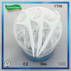 Carnes frescas de plástico Dental Floss Pick
