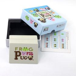 트럼프패 아이들을%s 주문을 받아서 만들어진 로고에 의하여 인쇄되는 게임 카드를 도매로 인쇄하는 주문 카드 놀이
