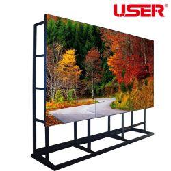 Coréia original 46 Polegadas Super Estreito LCD com retroiluminação de LED do painel frontal da parede de vídeo com Controlador de parede de vídeo