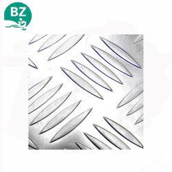 Алюминиевые Anti-Slippy клетчатого пластины пластины регулировки ширины колеи напольную пластину один бар, пять бар