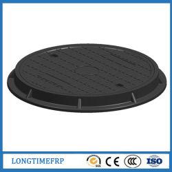 En124 C250 600mm SMC FRP 복합 맨홀 커버