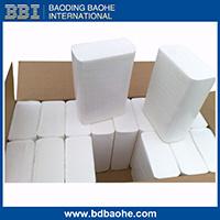 tovagliolo di carta Interfold della mano ultra sottile bianca di 1ply 2ply