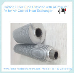Le cuivre en aluminium a expulsé tube d'ailette pour le chauffage, se refroidissant et séchant