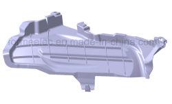 Silenciador de escape automotiva fabricação de moldes de plástico de carro do molde do colector de escape
