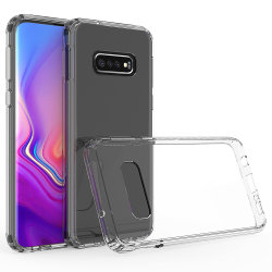 Claro TPU Silicone Transparente caso telefone para a Samsung S10