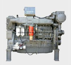 Морской дизельный двигатель 6 цилиндра 295квт 1800 об/мин