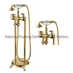 Insieme multifunzionale d'ottone dell'acquazzone della vasca da bagno Zf-43 dell'oggetto d'antiquariato di stile di vita di Timelss