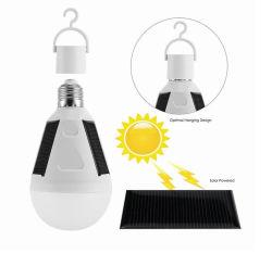 7W de gros feux solaire rechargeable portable LED d'urgence Lampe solaire