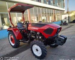 La Chine usine 55HP 4RM d'alimentation de marche de la machinerie agricole Mini les tracteurs de ferme
