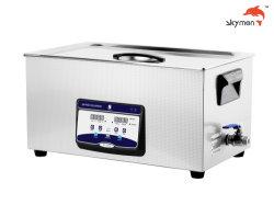 La nouvelle plaque nettoyeur ultrasonique numérique 22L avec Degas et onde variable Jp-080s