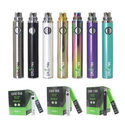 Batterie 650mAh 900mAh 1100mAh des Dr.-Cann Evod Variable Voltage gegen Evod Torsion EGO Ecig Batterien für Mt3 Ce4 Ce5 Zerstäuber