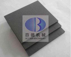 Réaction réfractaire collé la plaque en céramique de carbure de silicium (RBSIC ou SiSiC) Batt