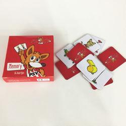 Cartas de jogo educativo personalizado/Jogos de cartão de memória