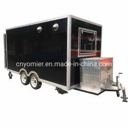 Fritadeira com móveis de design moderno Carrinho alimentar/comida do Carrinho