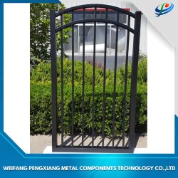 Un design moderne en aluminium/acier galvanisé/coulissant/DRIVEWAY/Double Swing/Porte d'entrée pour la maison/école/Ferme/Villa