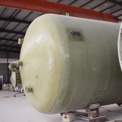 Customized resistentes à corrosão com químicas de PRFV GRP/tanque de armazenamento