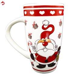 16oz groot Porselein/de Ceramische Mokken van de Koffie voor de Bevordering van Kerstmis