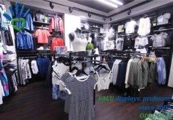 Флагманская модель спортивной одежды магазин дизайн интерьера Fashion Sport магазин одежды Fitout