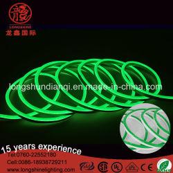 LED 2カラー皮ネオンロープの屈曲の滑走路端燈適用範囲が広いライト220Vはネオンライトを防水する