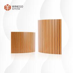 Placa de aislamiento acústico panel perforado el panel de pared 3D