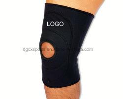 2019新しい運動競技の開いた杯上部のネオプレンの膝の袖
