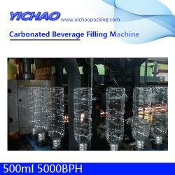 Botella de Pet automático de la bebida energética de jugo de mineral carbonatada beber agua pura para beber y embotellado de bebidas Máquina de Llenado Línea de producción llave en mano de la planta