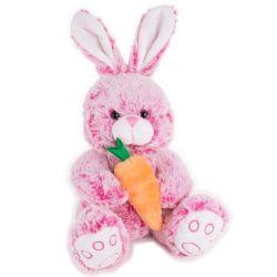 子供のための柔らかいぬいぐるみのプラシ天のイースターのウサギのおもちゃの柔らかいウサギ
