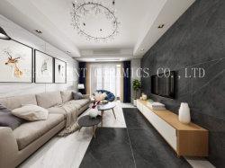 黒によってガラス化される大きいボード完全なボディ大理石の床の壁の磨かれたタイル