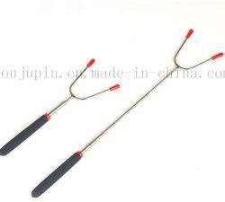 Ajustável em Aço Inoxidável Personalizada Espeto churrascos Stick Ferramentas dos garfos