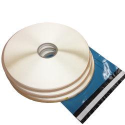 No adhesiva de doble cinta de sellado herméticamente para sacos postales (SJ-HC158)