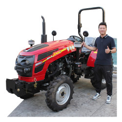 35HP 30HP 40HP 60HP 소형 영농 장비 농기계 소형 트랙터 50HP Mini 4X4 4WD 아그리콜 농가 트랙터 가격