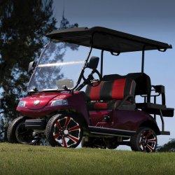 실외용 4인승 브러시리스 AC 모터 전기 골프 놀이터