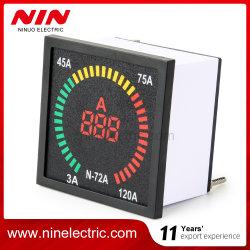 NIN 자동 차 회전 속도계 유형 LED 디지털 전류계
